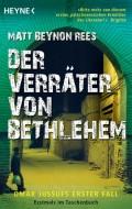 Buchcover von Matt Beynon Rees: Der Verräter von Bethlehem