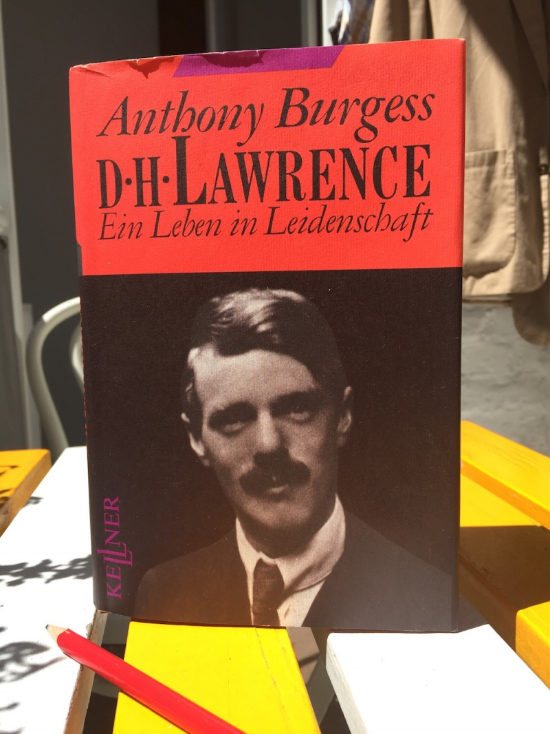 Anthony Burgess dh lawrence